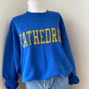 Vintage Cathedral Crewneck Sweatshirt